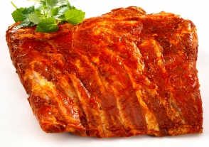 Spareribs, Sweet Honey BBQ